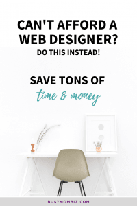 You don't need to hire a web designer - do this to effortlessly create landing pages to grow your email list, sell your coaching programs and courses, and make money online without the hustle! #wordpress #website #nohustle