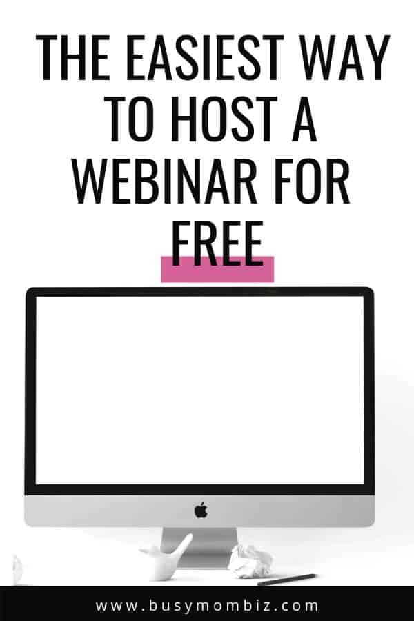 Want to launch your new program with a webinar? Learn how to save tons of money by hosting your webinar for free... no tech skills required at all!